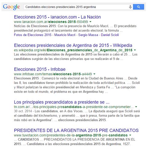 Elecciones presidenciales 2015 argentina
