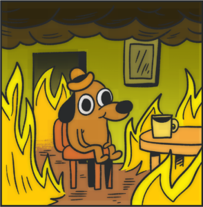 Error 404 Leve - This is Fine